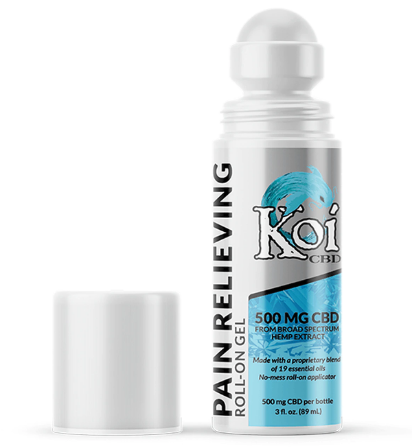 KOI CBD Pain Relieving Roll-On Gel (2)
