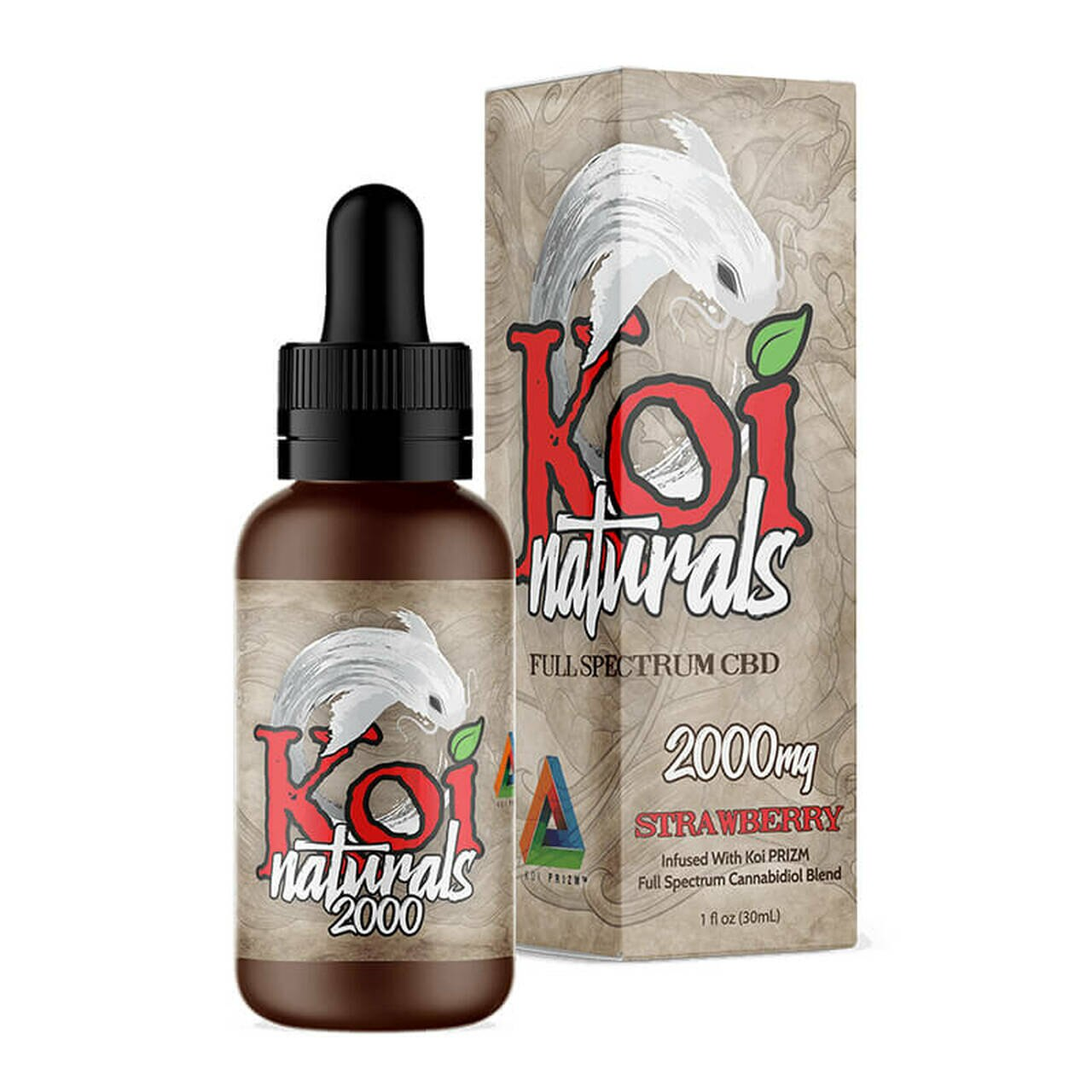 KOI CBD Naturals Strawberry CBD Tincture