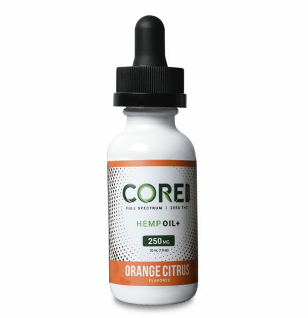 Core CBD Citrus OrangeCBD Tincture Oil