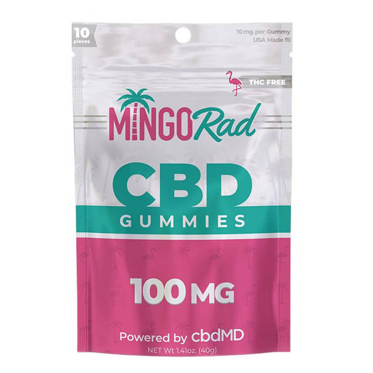 Mingo Rad Broad-Spectrum Gummies 10mg