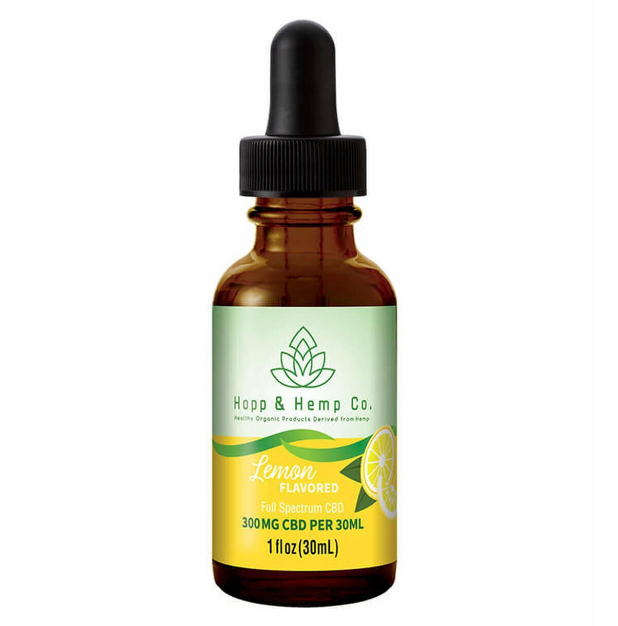 Hopp and Hemp Co Lemon CBD Tincture