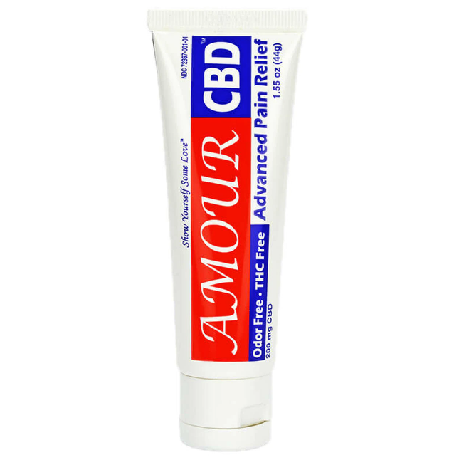 AMOURCBD Pain Relieving Cream