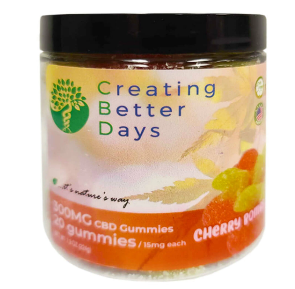 Creating Better Days Cherry Bomb Gummies 300mg