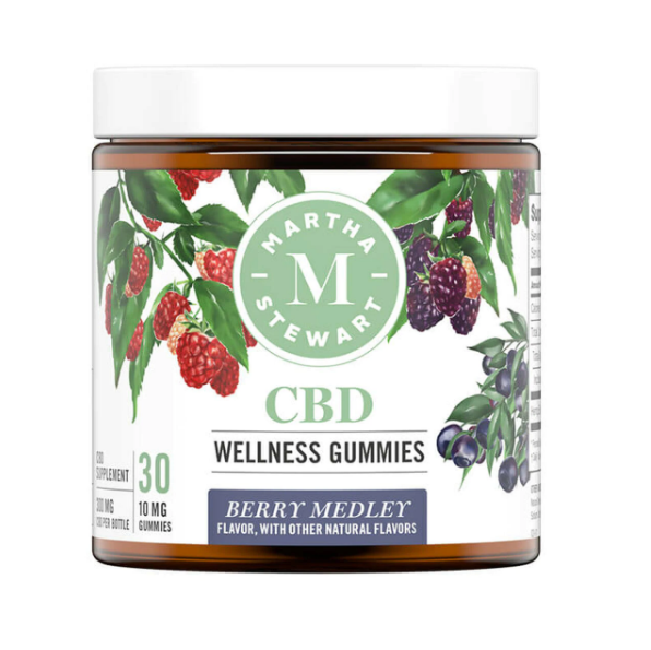 Martha Stewart Berry Medley Gummies 300mg